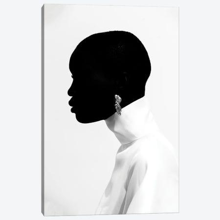 Black Head Canvas Print #OTG6} by Morgan Otagburuagu Canvas Art Print