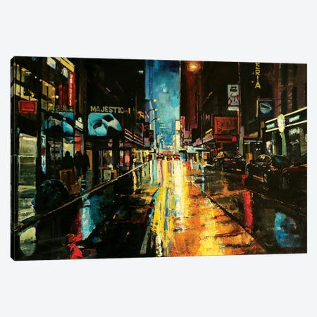 NYC Canvas Print #OTL22} by Marco Ortolan Canvas Artwork