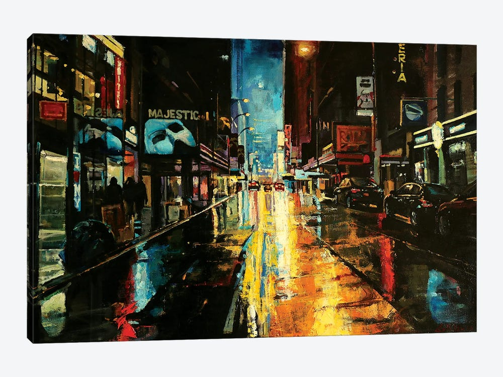NYC by Marco Ortolan 1-piece Canvas Art