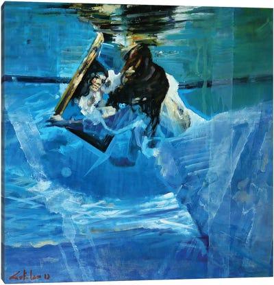 Underwater Mirrors Canvas Art Print