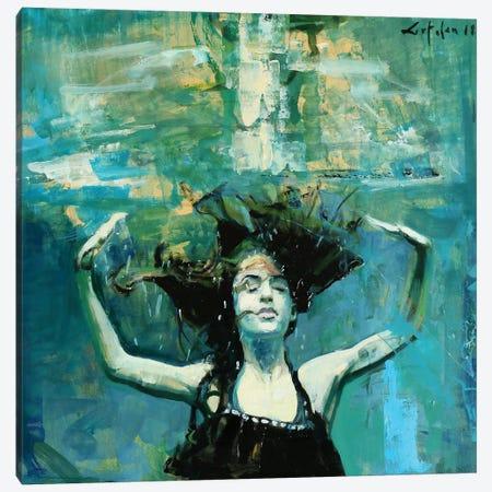 Dancing Underwater III Canvas Print #OTL27} by Marco Ortolan Canvas Print