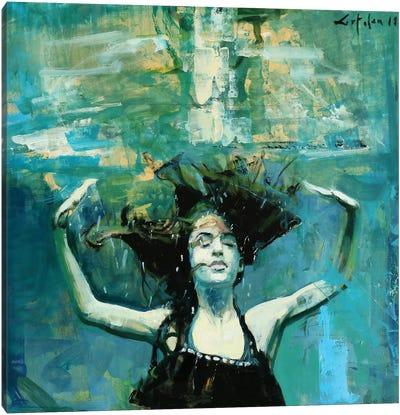 Dancing Underwater III Canvas Art Print