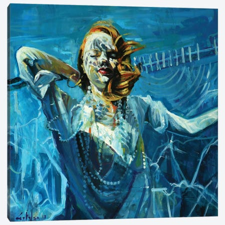 Still The Water IV Canvas Print #OTL31} by Marco Ortolan Canvas Print