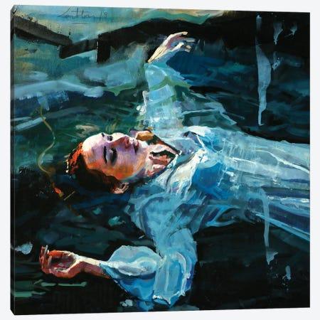 The Death Of Ophelia Canvas Print #OTL32} by Marco Ortolan Canvas Art Print