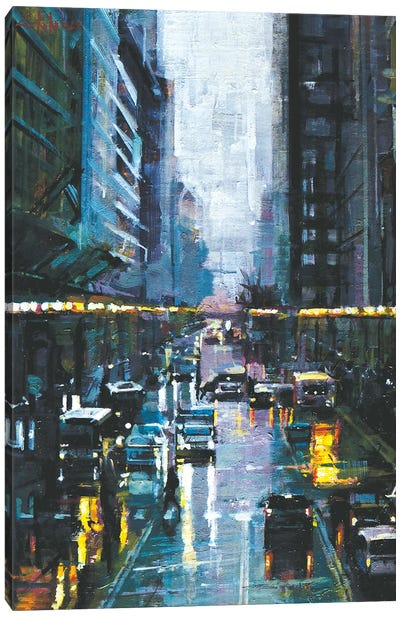 NYC Streets Canvas Art Print