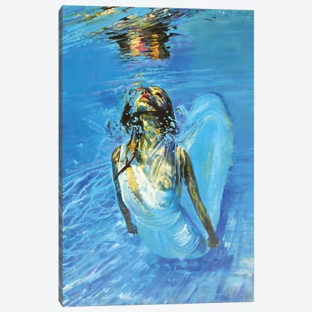 Diving The Ocean IV Canvas Print #OTL39} by Marco Ortolan Canvas Art Print