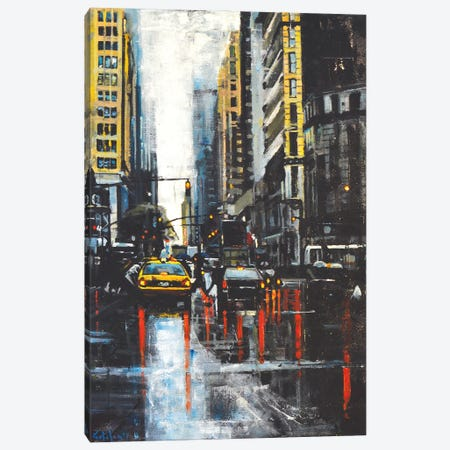 NYC II Canvas Print #OTL44} by Marco Ortolan Canvas Art Print