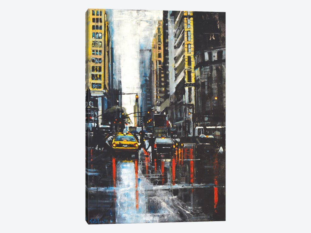 NYC II by Marco Ortolan 1-piece Canvas Art