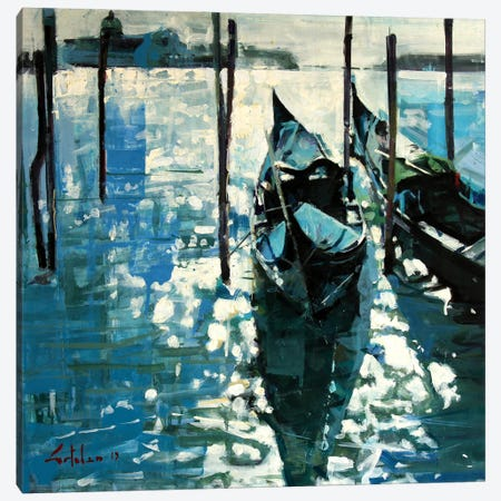Shining In Venice Canvas Print #OTL4} by Marco Ortolan Canvas Wall Art