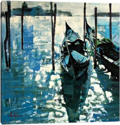 Shining In Venice Canvas Art Print