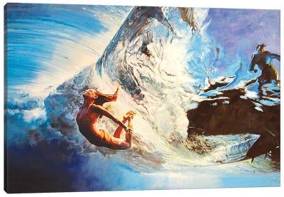 The Wave Canvas Art Print