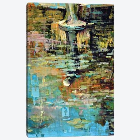 Waterlilies V Canvas Print #OTL64} by Marco Ortolan Art Print