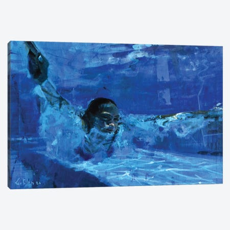 Still The Water VIII Canvas Print #OTL78} by Marco Ortolan Canvas Art Print
