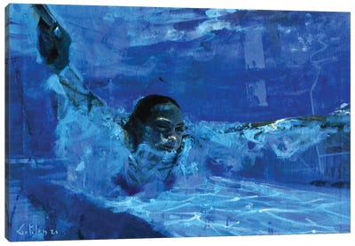 Still The Water VIII Canvas Art Print