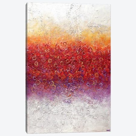 Blossom VIII Canvas Print #OTZ102} by Osnat Tzadok Canvas Wall Art