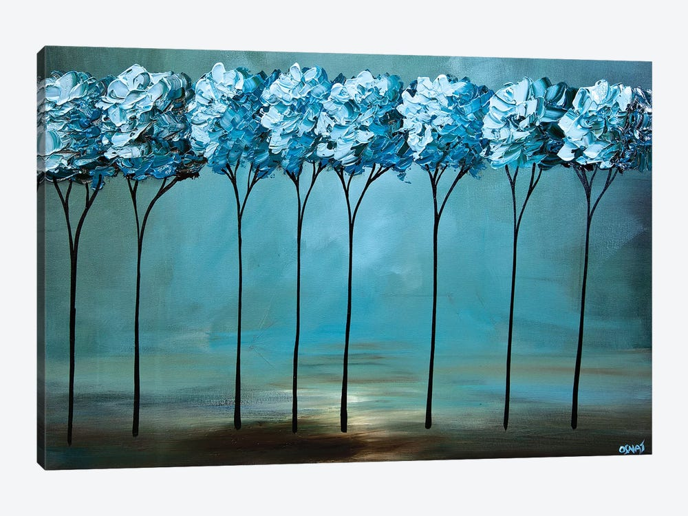 By the Lake II by Osnat Tzadok 1-piece Canvas Art
