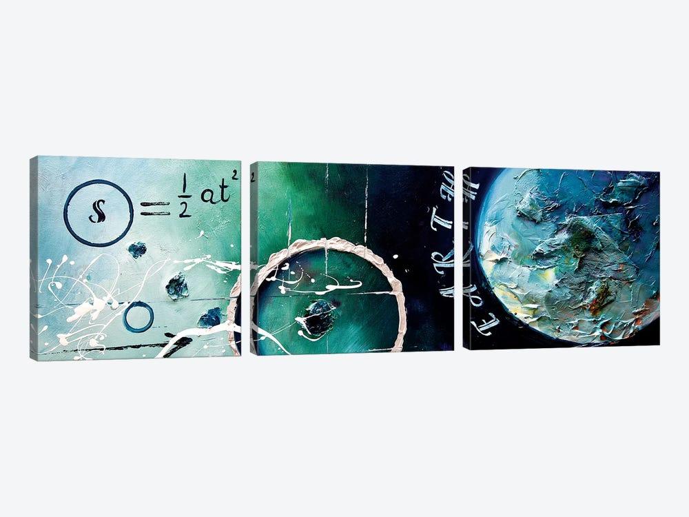 Galileo Formula by Osnat Tzadok 3-piece Canvas Print