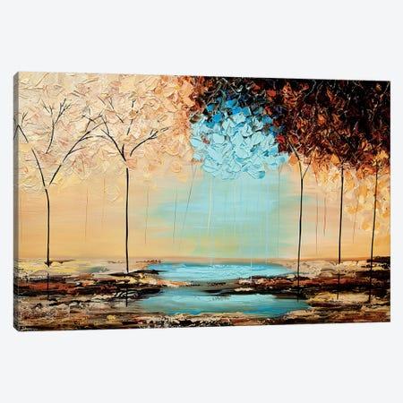 Greatful Ones Canvas Print #OTZ107} by Osnat Tzadok Canvas Art Print