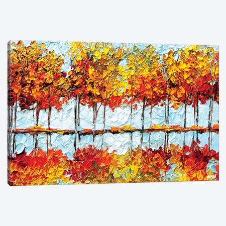 Indian Summer I Canvas Print #OTZ108} by Osnat Tzadok Canvas Artwork