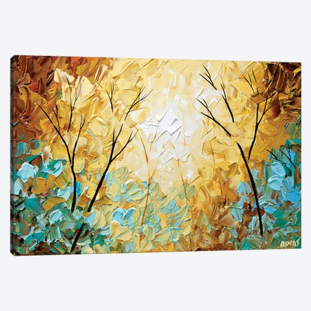 Laying on My Back Canvas Print #OTZ109} by Osnat Tzadok Canvas Art