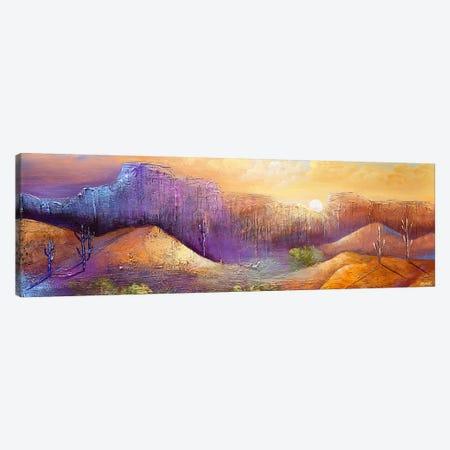 Oasis 3-Piece Canvas #OTZ112} by Osnat Tzadok Canvas Art Print