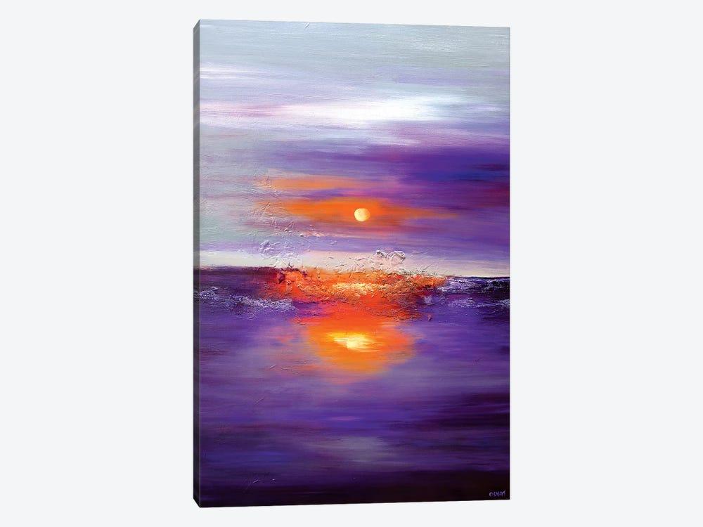 Purple Sunset by Osnat Tzadok 1-piece Art Print