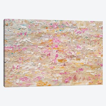 Soft Brick Canvas Print #OTZ115} by Osnat Tzadok Canvas Artwork