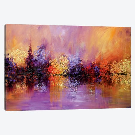 Spring Time Canvas Print #OTZ117} by Osnat Tzadok Canvas Art