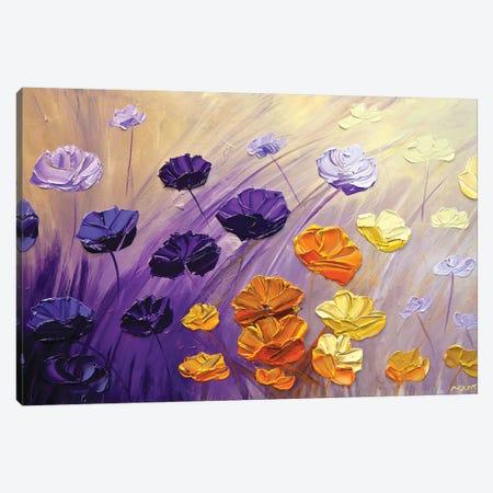 The Garden Canvas Print #OTZ118} by Osnat Tzadok Art Print
