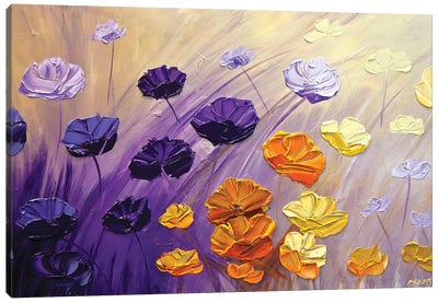 The Garden Canvas Art Print