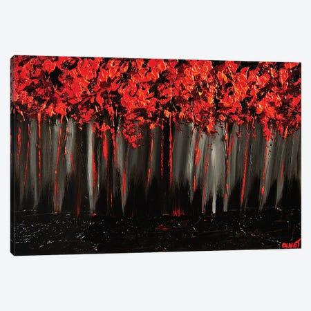 Blossom II 3-Piece Canvas #OTZ11} by Osnat Tzadok Canvas Print