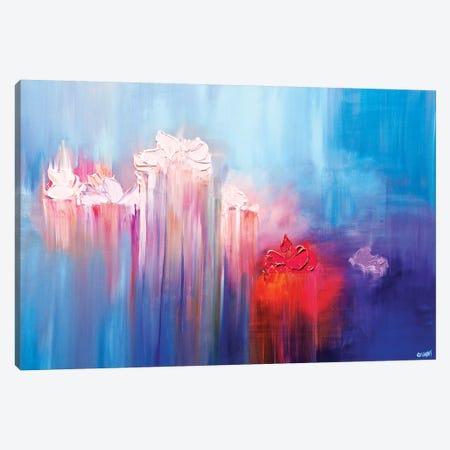 The Pond Canvas Print #OTZ121} by Osnat Tzadok Canvas Artwork
