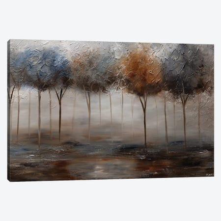 The Silver Pond Canvas Print #OTZ127} by Osnat Tzadok Canvas Art Print