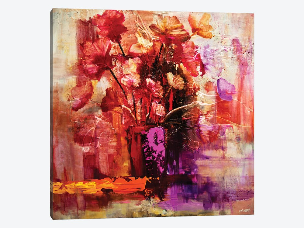 Blossom VI by Osnat Tzadok 1-piece Canvas Artwork
