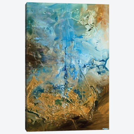 The Golden Planet Canvas Print #OTZ132} by Osnat Tzadok Art Print
