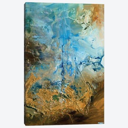 The Golden Planet Canvas Print #OTZ132} by Osnat Tzadok Art Print