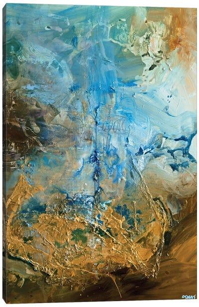 The Golden Planet Canvas Art Print