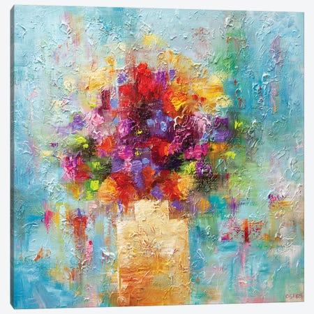 Joy 3-Piece Canvas #OTZ136} by Osnat Tzadok Canvas Wall Art
