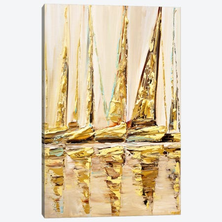 Sail With Me Canvas Print #OTZ141} by Osnat Tzadok Canvas Art