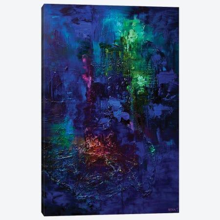 Blue Canvas Print #OTZ146} by Osnat Tzadok Art Print