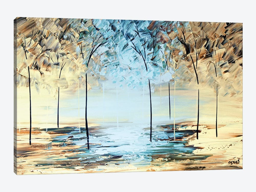 By The Lake by Osnat Tzadok 1-piece Canvas Art