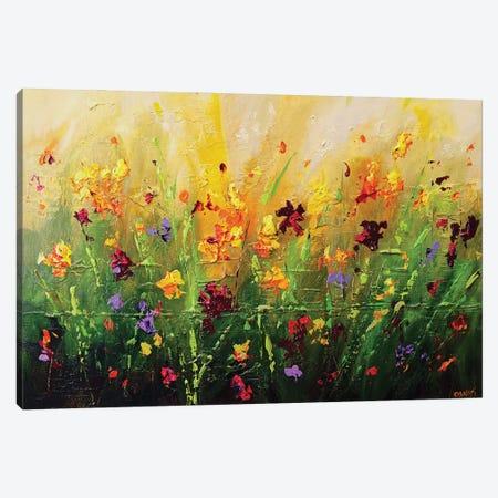 Spring Canvas Print #OTZ152} by Osnat Tzadok Art Print
