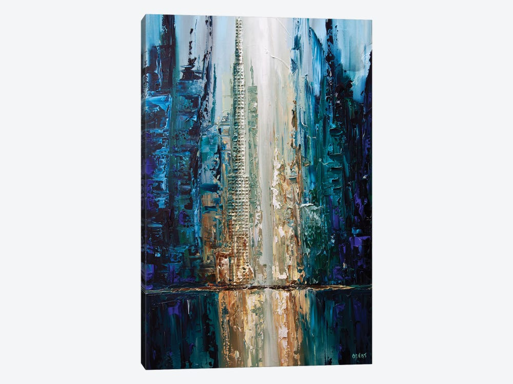City Of Angels by Osnat Tzadok 1-piece Art Print