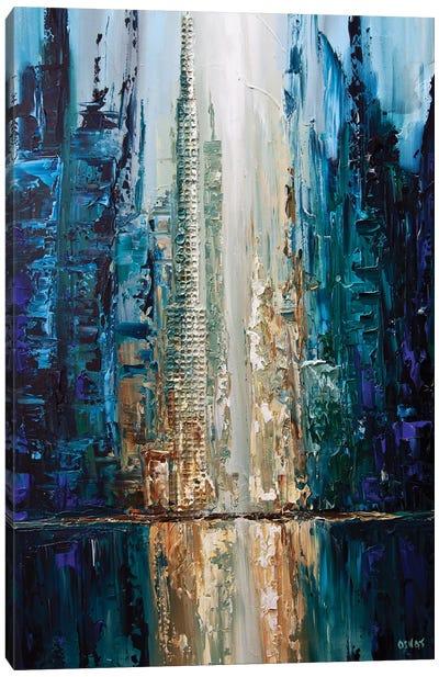 City Of Angels Canvas Art Print