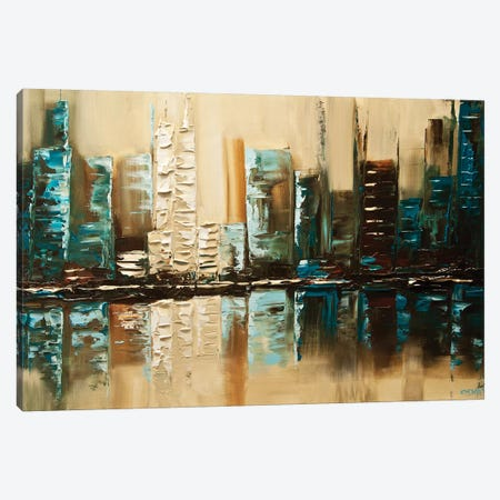 City Of Helios Canvas Print #OTZ16} by Osnat Tzadok Canvas Art