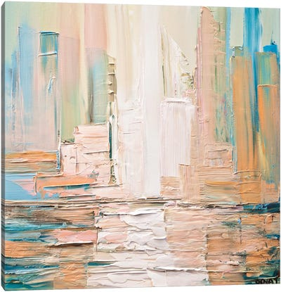 City Skyline Canvas Art Print