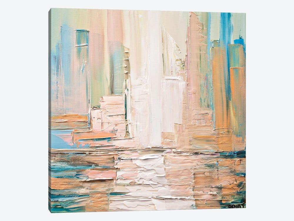 City Skyline by Osnat Tzadok 1-piece Canvas Art