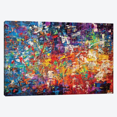 20 Million Things To Do Canvas Print #OTZ1} by Osnat Tzadok Canvas Artwork