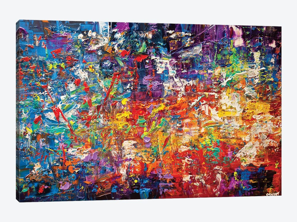 20 Million Things To Do by Osnat Tzadok 1-piece Canvas Print