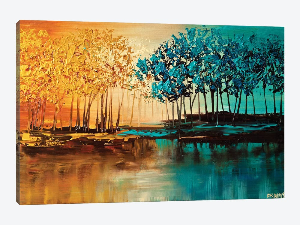 Eden by Osnat Tzadok 1-piece Canvas Print